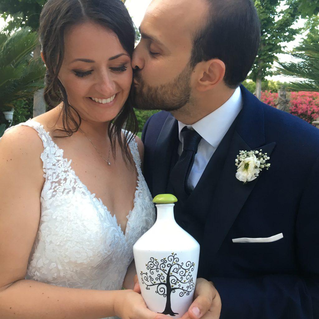 matrimonio ceramica e olio EVO